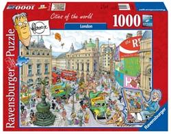 Ravensburger  legpuzzel Fleroux: London - 1000 stukjes