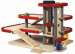 Plan Toys  Plan City houten speelstad gebouw 6227 Garage