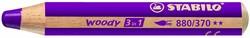 Stabilo  teken en verfspullen woody 880 paars