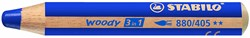 Stabilo  teken en verfspullen woody 880 blauw