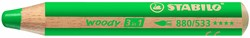 Stabilo  teken en verfspullen woody 880 groen