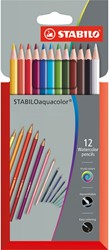 STABILO aquacolor etui 12 stuks