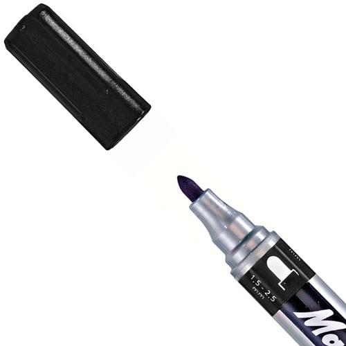 Mark-4-All 651 marker, ronde punt zwart