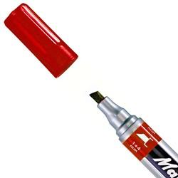 Mark-4-All 653 marker, beitel punt rood