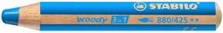 Stabilo  teken en verfspullen woody 880 middelblauw
