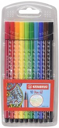 Stabilo  teken en verfspullen Pen 68 etui 10 stuks