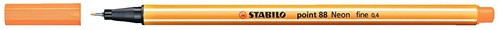 STABILO point 88 neon oranje