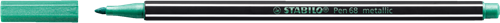 STABILO Pen 68 metallic 836 metallic groen