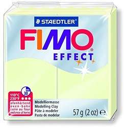 Fimo  effect klei glow in the dark