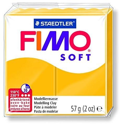 Fimo  soft klei - zonne geel