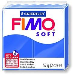 Fimo  soft klei - brilliant blauw