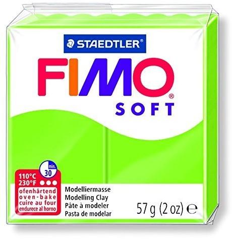 Fimo  soft klei - appel groen