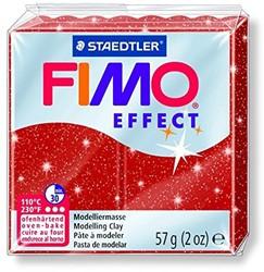 Fimo  effect klei metallic rood
