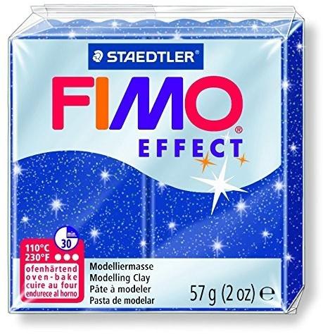 Fimo  effect klei metallic blauw