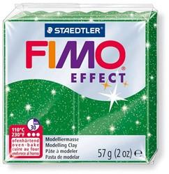 Fimo  effect klei metallic groen