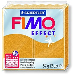 Fimo  effect klei goud