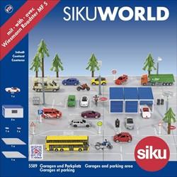 Siku SIKU World - Garage en parkeerplaats 5589
