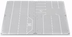Siku Wegdelen recht en parkeerplaats 5599