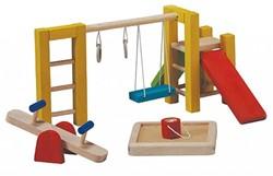 Plan Toys  houten poppenhuis accessoire Speeltuin