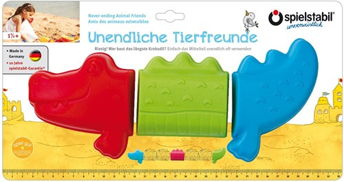 Spielstabil 3-Piece Never-ending Animal Friends-Crocodile fashion