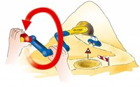 Spielstabil   zandspeelgoed sand drill combi-3