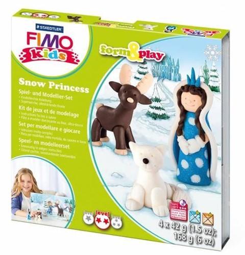 Fimo kids klei sneeuw prinses