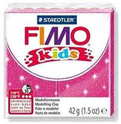 Fimo  kids klei - glitter rose