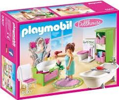 Playmobil Dollhouse - Badkamer met bad op pootjes  5307