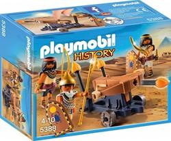 Playmobil  History Soldaten van de farao met ball 5388