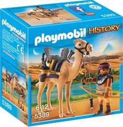 Playmobil  History Egyptische krijger met dromeda 5389