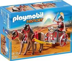 Playmobil  History Romeinse strijdwagen met tribu 5391