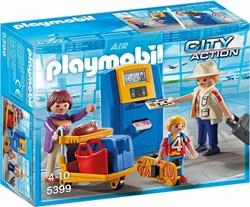 Playmobil  Action Vakantiegangers aan incheckbalie 5399
