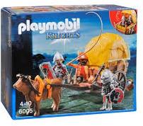 Playmobil Knights Camouflage hooiwagen van de Valkenridders 6005