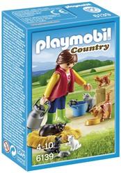 Playmobil Country  - Bonte kattenfamilie  6139