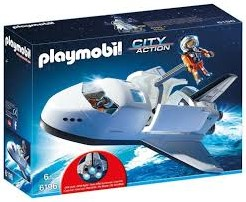 Playmobil  City Action Space Shuttle met bemanning 6196