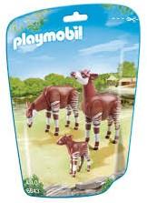 Playmobil  City Life Okapi's met kalf 6643