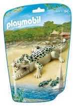 Playmobil  City Life Alligator met baby's 6644