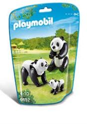 Playmobil  City Life Panda's met baby 6652