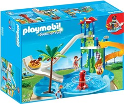 Playmobil  Summer Fun Waterpretpark met glijbanen 6669