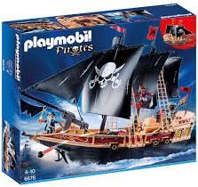 Playmobil Pirates - Piraten aanvalsschip   6678
