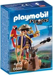 Playmobil - Pirates - Piratenkapitein Eénoog
