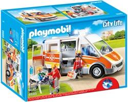 Playmobil City Life  - Ziekenwagen met licht en geluid  6685