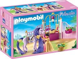 Playmobil Princess - Koninklijke stal met paard om te kammen