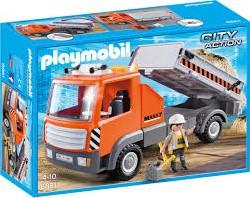 Playmobil  City Action Kiepvrachtwagen 6861