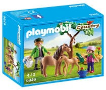 Playmobil  Country Dierenarts met pony's 6949
