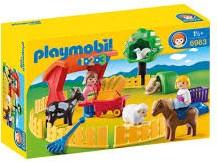 Playmobil  1.2.3. kinderboerderij 6963