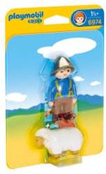 Playmobil  1.2.3. Herder met schaap 6974