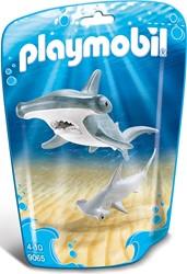 Playmobil  Wild Life Hamerhaai met jong 9065