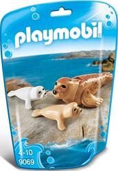 Playmobil  Wild Life Zeehond met pups 9069