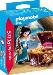 Playmobil  Special Plus Piratenvrouw met schatkist 9087